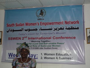Empowering Sudanese Women to Build Peace!