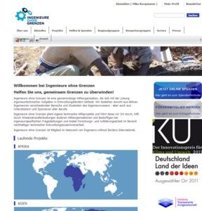 Komplette Internetseite