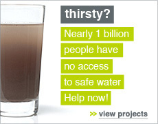 donate for safe water now