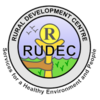 Fill 100x100 original rudec logo colour text transparent small