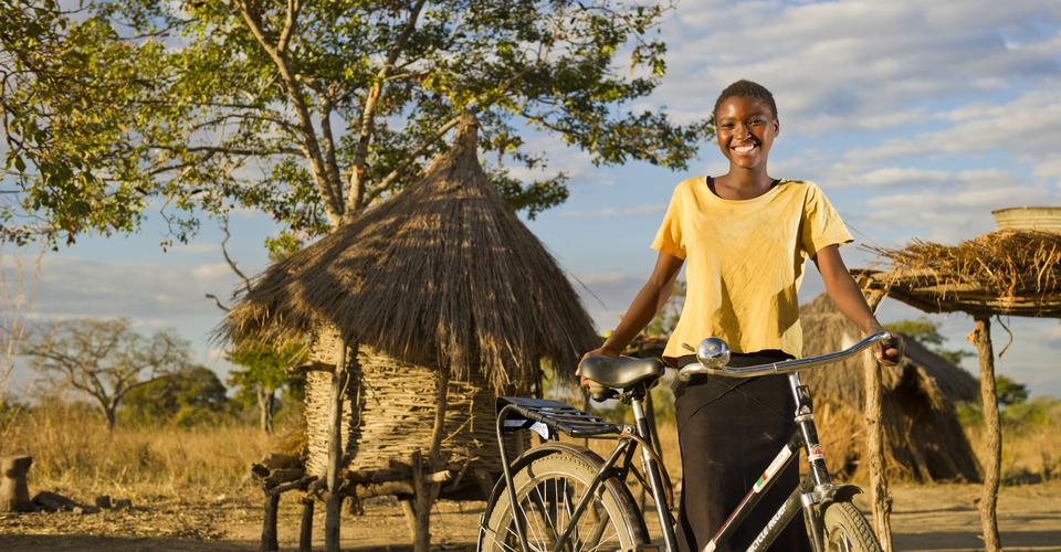 Stimmungsbild von Fahrrad = Mobilität = Bildung