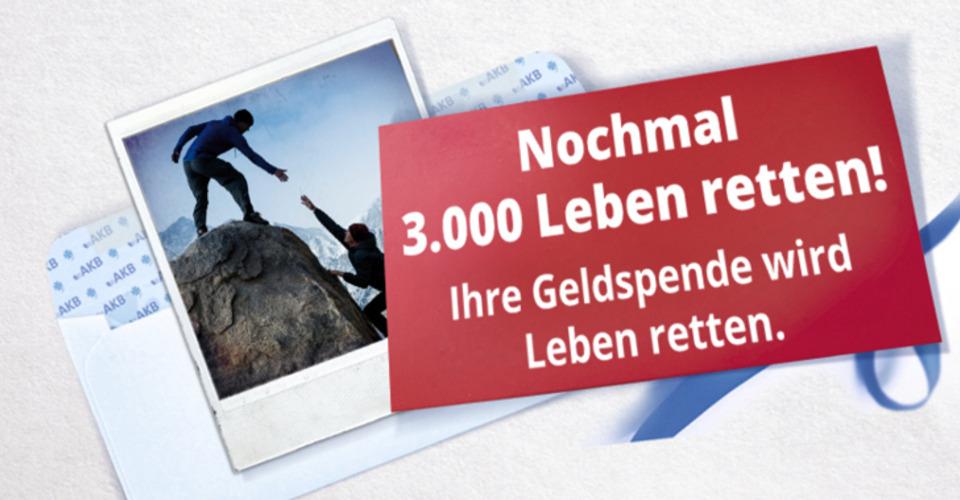 Stimmungsbild von Nochmal 3.000 Leben retten! Aktion Knochenmarkspende Bayern gegen Leukämie